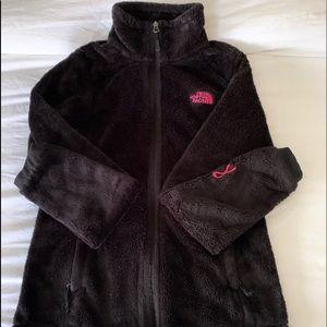 North face Black Fleece Zip Front